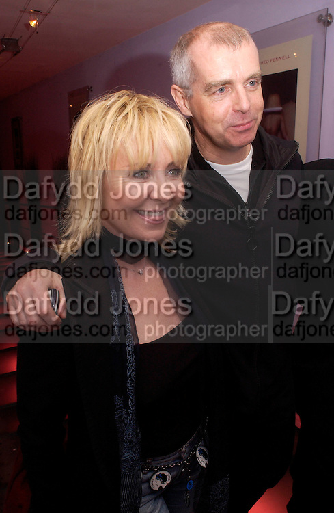 Lulu, Neil Tennant, Theo Fennell party to celebrate their 21st Anniversary. The Collection. 28 October 2003. © Copyright Photograph by Dafydd Jones 66 Stockwell Park Rd. London SW9 0DA Tel 020 7733 0108 www.dafjones.com