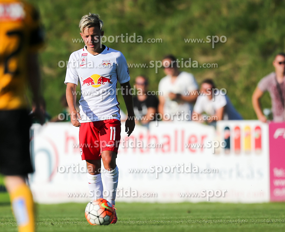 01.07.2016, Sportarena, Strasswalchen, AUT, Testspiel, FC Red Bull Salzburg vs BSC Young Boys, im Bild Marc Rzatkowski (FC Red Bull Salzburg) // during a friendly football match between FC Red Bull Salzburg and BSC Young Boys at the Sportarena in Strasswalchen, Austria on 2016/07/01. EXPA Pictures © 2016, PhotoCredit: EXPA/ Roland Hackl