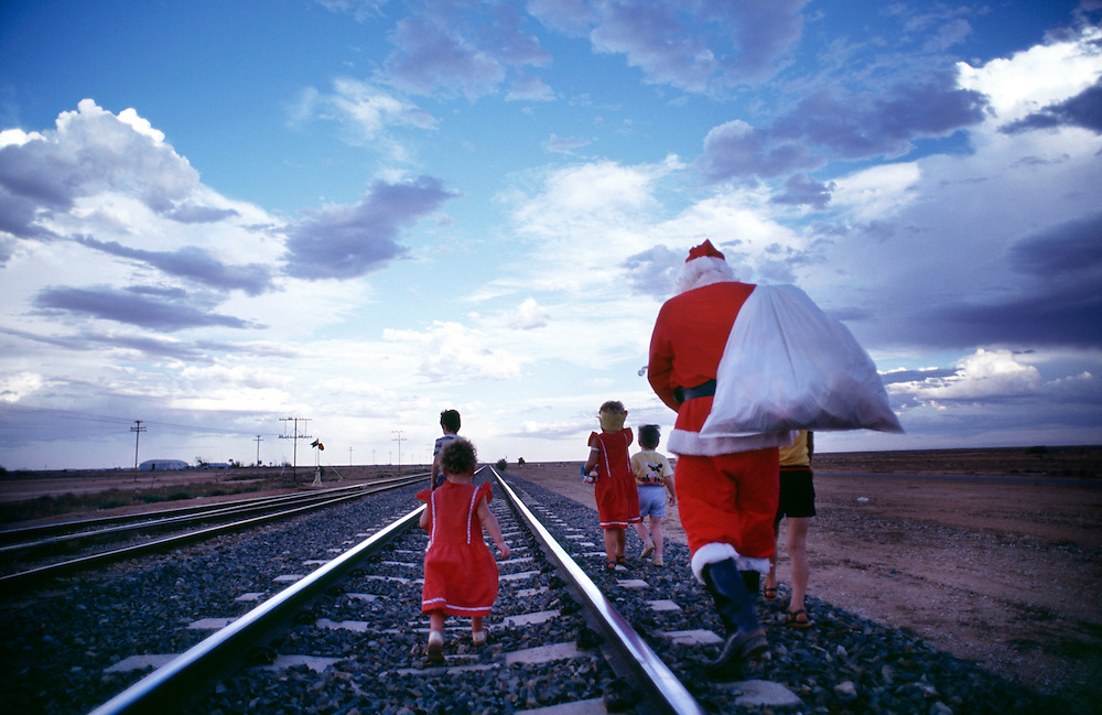 For over 30 years Alf Harris has been the Tea & Sugar Santa to the kids living on the Nullarbor