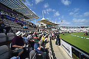 The Ageas Bowl in the sunshine before day two of the fourth SpecSavers International Test Match 2018 match between England and India at the Ageas Bowl, Southampton, United Kingdom on 31 August 2018.