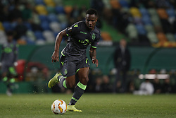 December 13, 2018 - Lisbon, Portugal - Jovane Cabral of Sporting  in action  during UEFA Europa League football match between Sporting CP vs Vorskla, in Lisbon, on December 13, 2018. (Credit Image: © Carlos Palma/NurPhoto via ZUMA Press)