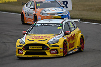 #20 James Cole Team Shredded Wheat Racing with Gallagher Ford Focus RS during BTCC Race 1  as part of the Dunlop MSA British Touring Car Championship - Rockingham 2018 at Rockingham, Corby, Northamptonshire, United Kingdom. August 12 2018. World Copyright Peter Taylor/PSP. Copy of publication required for printed pictures.