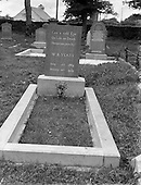 1957 Yeats' Grave at Drumcliffe, Co. Sligo