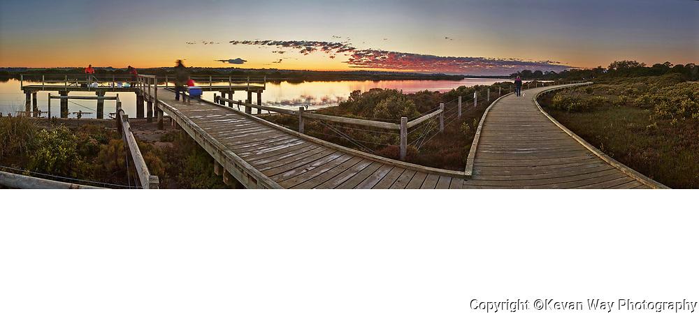 Lake Connewarre sunrise
