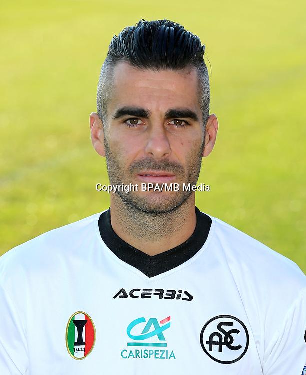 Italian League Serie B -2016-2017 / <br /> ( Spezia Calcio 1906 ) - <br /> Nico Pulzetti