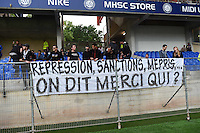 Supporters Montpellier - 02.05.2015 - Montpellier / Rennes - 35eme journee de Ligue 1<br />