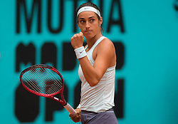 May 7, 2019 - Madrid, MADRID, SPAIN - Caroline Garcia of France in action during her second-round match at the 2019 Mutua Madrid Open WTA Premier Mandatory tennis tournament (Credit Image: © AFP7 via ZUMA Wire)
