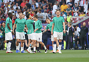 Jan Vertonghen warms up prior the Champions League Final match between Tottenham Hotspur and Liverpool at Tottenham Hotspur Stadium, London, United Kingdom on 1 June 2019.