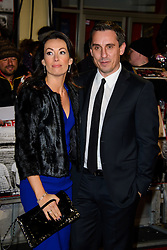 Gary Neville attends The World Premiere of 'The Class of 92'. Odeon West End, London, United Kingdom. Sunday, 1st December 2013. Picture by Chris Joseph / i-Images
