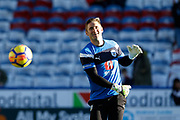 Huddersfield Town's Robert Green warming up during the Premier League match between Huddersfield Town and West Bromwich Albion at the John Smiths Stadium, Huddersfield, England on 4 November 2017. Photo by Paul Thompson.