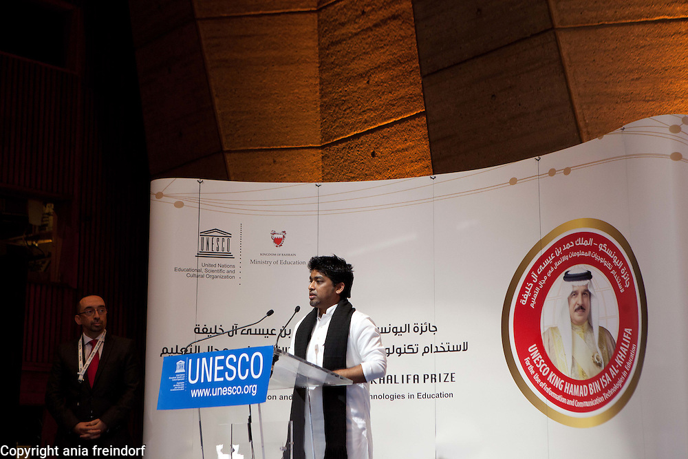 UNESCO - King Hamad Bin Isa Al-Khalifa Prize, for the use of Information and Communication Technologies in Education, Paris, France,  Jaago Foundation, Bangladesh, Online School.