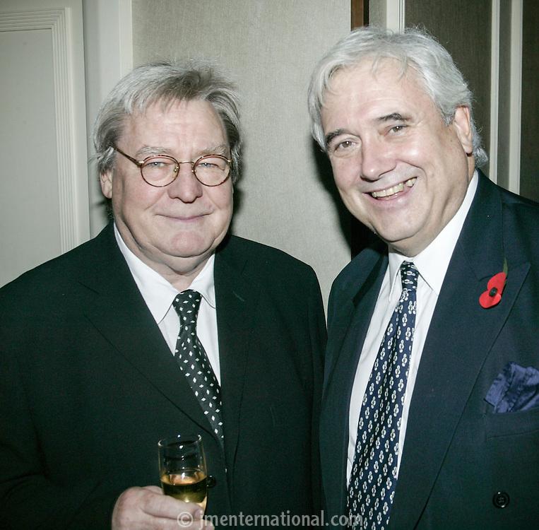 Alan Parker and Alan Alder