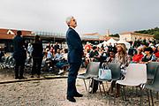 Massimo D'Alema durante la festa nazionale dal Partito politico Articolo 1. Roma 19 settembre 2018. Christian Mantuano / OneShot