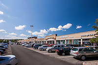 Retail exterior image of Rockland Plaza in Nanuet New York by Jeffrey Sauers of Commercial Photographics