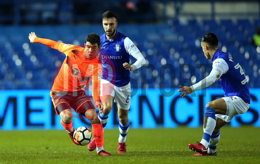 Pelle Clement of Reading - Mandatory by-line: Robbie Stephenson/JMP - 26/01/2018 - FOOTBALL - Hillsborough - Sheffield, England - Sheffield Wednesday v Reading - Emirates FA Cup fourth round proper