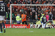 Charlie Telfer scores United's sixth - Dundee United v Dundee, SPFL Premiership at Tannadice<br /> <br />  - &copy; David Young - www.davidyoungphoto.co.uk - email: davidyoungphoto@gmail.com