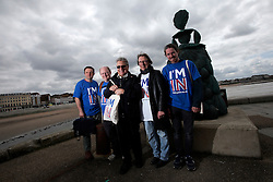 UK ENGLAND MARGATE 14MAY16 -Vote Remain campaign volunteer xxx poses for a photo in Margate, Kent, England.<br /> <br /> jre/Photo by Jiri Rezac<br /> <br /> © Jiri Rezac 2016