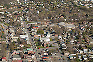 Montgomery, New York - An aerial view of the Village of Montgomery, N.Y. on April 20, 2016.