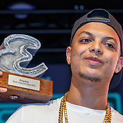 NLD/Amsterdam/20151119 - Esquire Best Geklede man 2015, winnaar Ronnie Flex