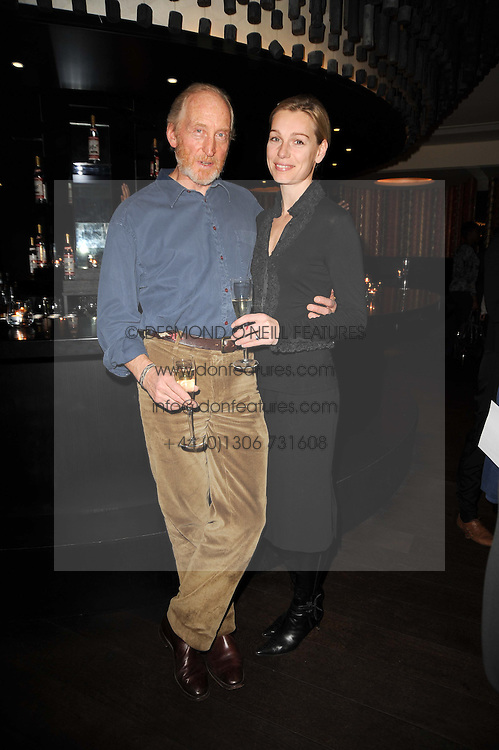 CHARLES DANCE and ELEANOR BOORMAN at the premiere of Nokia's N8 short film 'The Commuter' held at Aqua, 30 Argyll Street, London on 25th October 2010.