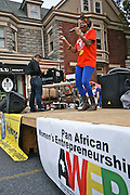 Pan African Women's Entrepreneurship Crafts Festival, Zambian Singer, West Reading, Berks Co., PA