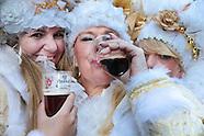 Carnaval bier in plastic bekers