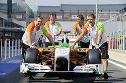 13.10.2011, Korea-International-Circuit, Yeongam, KOR, F1, Großer Preis von Südkorea, Yeongam, im Bild. Force India Formula One Team // during the Formula One Championships 2011 Large price of Korea held at the Korea-International-Circuit, 2011-10-13  EXPA Pictures © 2011, PhotoCredit: EXPA/ nph/  Dieter Mathis        ****** only for AUT, POL & SLO ******
