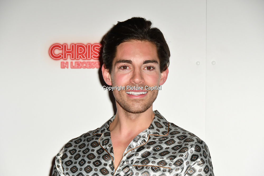 Tom Wilson attends Briefs: Close Encounters - press night an All-male 'Boylesque' group show off their circus skills, drag acts and raucous comedy routines at The Spiegeltent Leicester Square on 14 November 2018, London, UK.