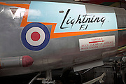 English Electric Lightning DB F1 Norfolk  Suffolk aviation museum Flixton Bungay England.