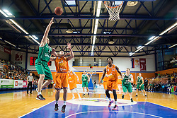 Goran Jurak of KK Zlatorog vs Marjan Cakarun of KK Helios Suns during 2nd Leg basketball match between KK Helios Suns and KK Zlatorog Lasko in Final of Nova KBM Champions League  2015/16, on May 31, 2016 in Hala Komunalnega centra, Domzale, Slovenia Photo by Vid Ponikvar / Sportida