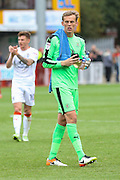 Luton Town Goalkeeper Christian Walton during the EFL Sky Bet League 2 match between Crawley Town and Luton Town at the Checkatrade.com Stadium, Crawley, England on 17 September 2016. Photo by Phil Duncan.
