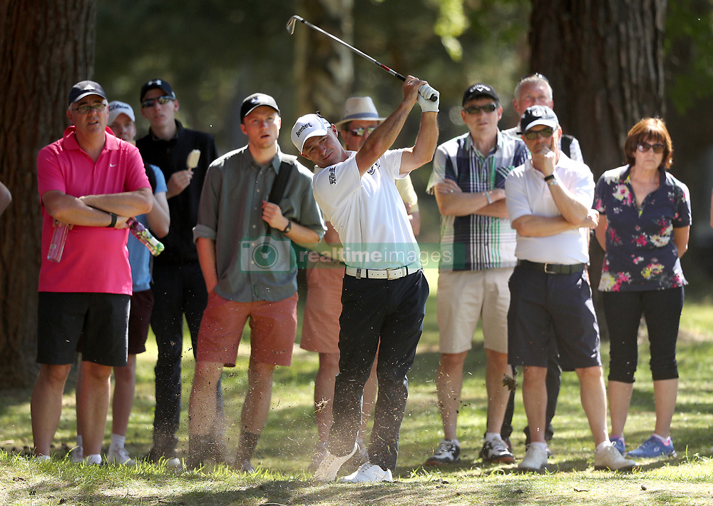 England's Robert Coles during day two of the 2017 BMW PGA Championship at Wentworth Golf Club, Surrey.