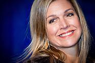 Koningin Maxima is maandag 23 januari 2017 aanwezig bij het 'Jaarevent van nlgroeit'