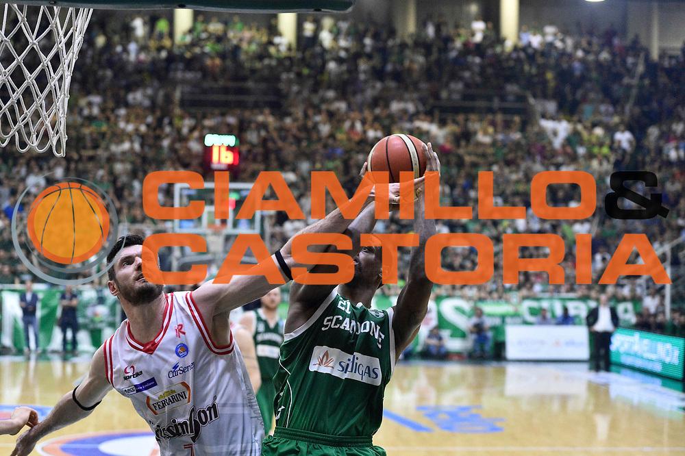 Avellino 28.05.2016<br /> Basket Serie A - Playoff Semifinali Gara 6<br /> Sidigas Avellino - Grissin Bon Reggio Emilia<br /> <br /> Nella foto: Darius Lavrinovic
