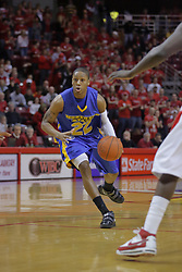 20 February 2010: Demonte Harper. The Redbirds of Illinois State bust the Eagles of Morehead State in an ESPN Bracketbuster game 71-62 on Doug Collins Court inside Redbird Arena at Normal Illinois.