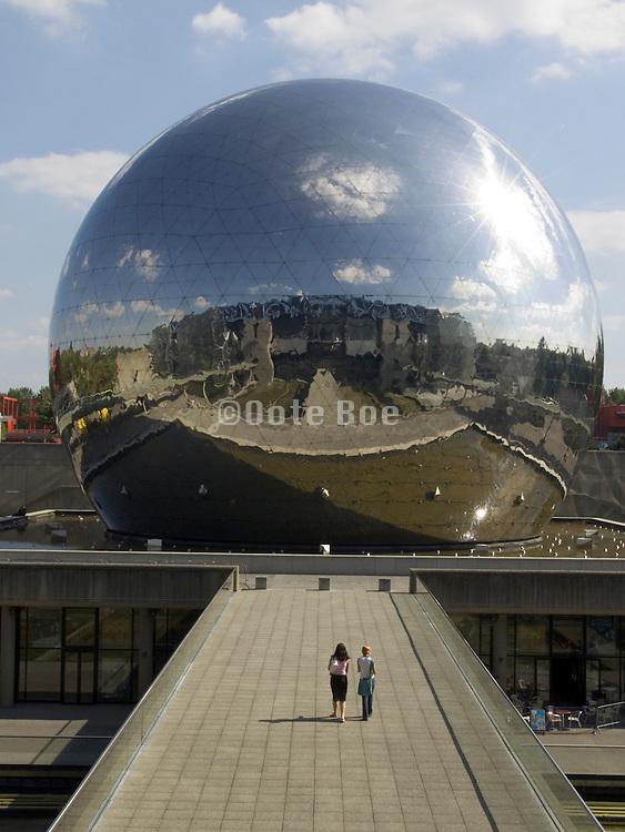 the Geode at Cite des sciences et de l industrie France Paris Parc de La Villette