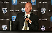 Colorado head coach Tad Boyle during Pac-12 Basketball Media Day, Tuesday, Oct. 8, 2019, in San Francisco, Calif. (Dylan Stewart/Image of Sport)