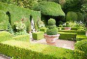 Italianate garden of landscape gardener Harold Ainsworth Peto created between 1899 and 1933, at Iford Manor, near Freshford, Wiltshire, England