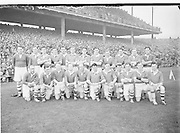 Cavan Team. All Ireland Senior Football Final, Meath v Cavan, 28091952AISFCF, Result - Draw, 28.09.1952, 09.28.1952, 28th September 1952,