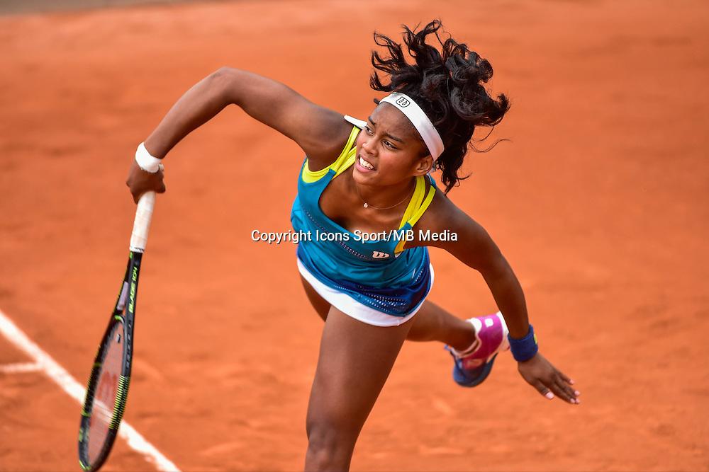 Tessah ANDRIANJAFITRIMO - 02.06.2015 - Jour 10 -Roland Garros 2015<br /> Photo : David Winter / Icon Sport