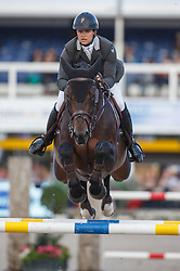 Vernaet Frederic (BEL) - Tonixe<br /> Final 7 years<br /> FEI World Breeding Jumping Championships for Young Horses - Lanaken 2014<br /> © Dirk Caremans