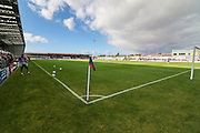 The Globe Arena during the EFL Sky Bet League 2 match between Morecambe and Carlisle United at the Globe Arena, Morecambe, England on 8 October 2016. Photo by Pete Burns.