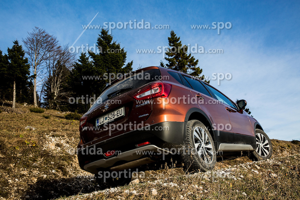 Testing of Suzuki SX4 S-cross All grip in mountains, on December 2, 2016 in Velika Planina, Slovenia. Photo by Vid Ponikvar / Sportida