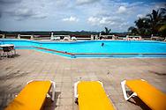 Pool at Villa Mirador de Mayabe, Holguin, Cuba.