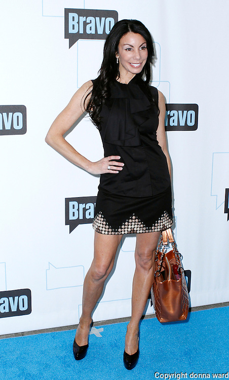 Danielle Staub attends the 2010 Bravo Media Upfront Party at Skylight Studios in New York City on March 10, 2010