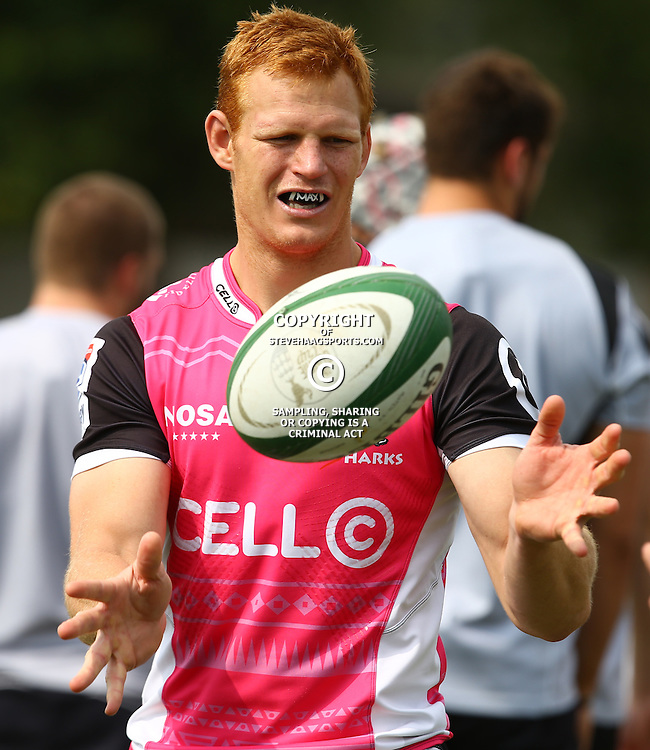 DURBAN, SOUTH AFRICA, 16 August, 2016 - Phillip van der Walt during The Cell C Sharks  Press Conference and Currie Cup training session at Growthpoint Kings Park in Durban, South Africa. (Photo by Steve Haag)<br /> <br /> images for social media must have consent from Steve Haag