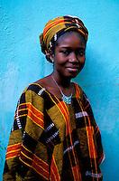 Mali - Djenné - Femme chez elle