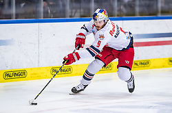 09.04.2019, Eisarena, Salzburg, AUT, EBEL, EC Red Bull Salzburg vs Vienna Capitals, Halbfinale, 6. Spiel, im Bild Alexander Rauchenwald (EC Red Bull Salzburg) // during the Erste Bank Icehockey 6th semifinal match between EC Red Bull Salzburg vs Vienna Capitals at the Eisarena in Salzburg, Austria on 2019/04/09. EXPA Pictures © 2019, PhotoCredit: EXPA/ JFK