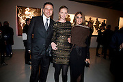 DAVID WALLIAMS; LARA STONE; CARINE ROITFEL, Richard Hambleton private view.- New York- Godfather of Street art presented by Vladimir Restoin Roitfeld and Andy Valmorbida in collaboration with Giorgio armani. The Old Dairy. London. 18 November 2010. -DO NOT ARCHIVE-© Copyright Photograph by Dafydd Jones. 248 Clapham Rd. London SW9 0PZ. Tel 0207 820 0771. www.dafjones.com.