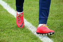Rainbow laces worn by Ellis Harrison of Bristol Rovers - Mandatory by-line: Dougie Allward/JMP - 02/12/2017 - FOOTBALL - Memorial Stadium - Bristol, England - Bristol Rovers v Rotherham United - Sky Bet League One